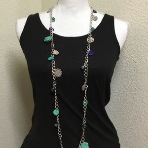 Jewelry - 5/$25 Long Whimsy Flower Necklace